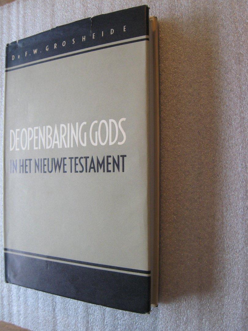 Grosheide, Dr.F.W. - De openbaring Gods in het Nieuwe Testament