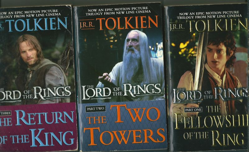Tolkien, J.R.R - The lord of the rings in 3 movie-tie in pockets