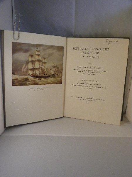 Oderwald, J. - Het Nederlandsche zeilschip, van 1800 tot het einde