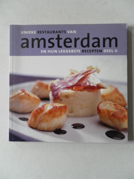 Enthoven Joyce e.a Illustrator : Govers Joost e.a - Unieke restaurants van Amsterdam en hun lekkerste recepten deel II