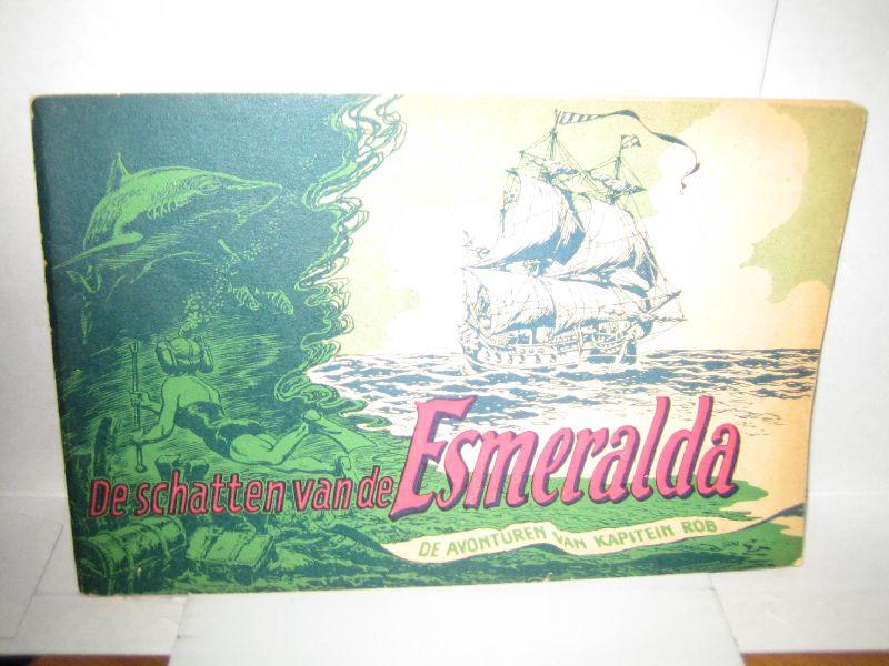 kuhn, pieter - de avonturen van kapitein rob de schatten van de esmeralda ( deel 30 )