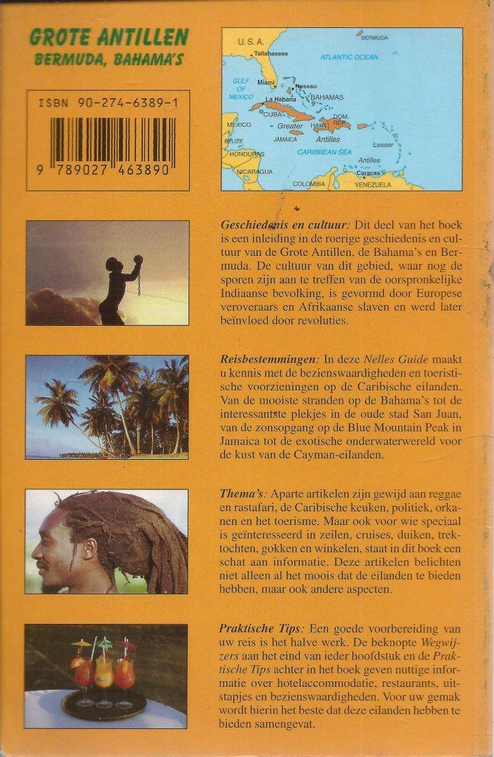Reisgids - GROTE ANTILLEN - BERMUDA, BAHAMA'S - GESCHIEDENIS EN CULTUUR, REISBESTEMMINGEN, THEMA'S, PRAKTISCHE TIPS. Een actuele reisgids met 151 kleurenfoto's en 20 detailkaarten