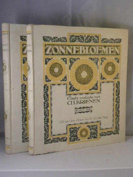 Krienen, Charles (red.) - Zonnebloemen, dln 1 en 2  (van de 3)