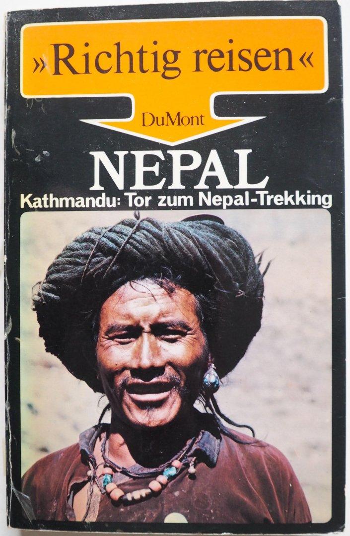 Bedenig Dieter e.a Illustrator : div fotografen - Richtig reisen Nepal Kathmandu Tor zum Nepal-Trekking