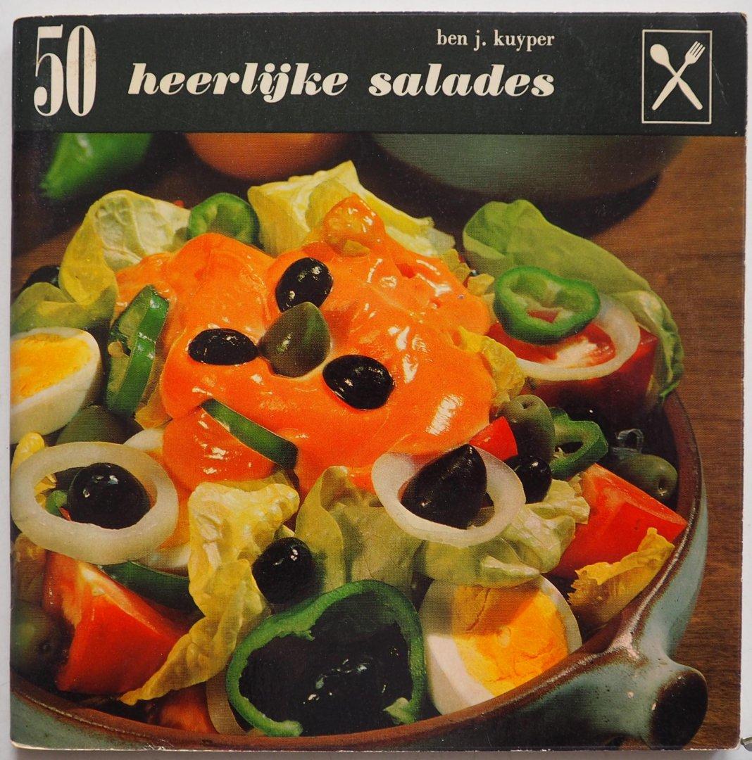 Kuyper, Ben J. Illustrator : Bogaard, Marjolein uit den - 50 Heerlijke salades