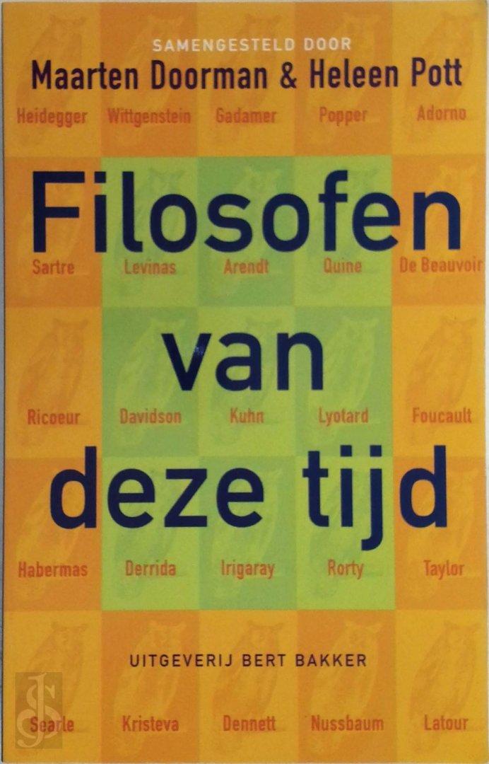 Maarten Doorman, Heleen Pott - Filosofen van deze tijd