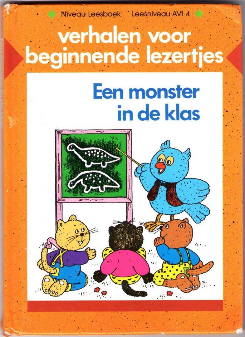 Afbeeldingsresultaat voor verhalen voor beginnende lezertjes een monster in de klas