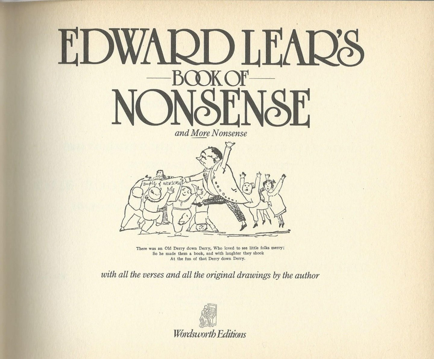 Lear, Edward - Book of nonsense and more nonsense, with all the verses and all the original drawings by the author