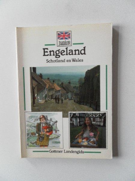 Thiel, Hans Peter;  Wurmli, Marcus; Illustraties: Rose, Ilse - Engeland Schotland en Wales. Gottmer Junior Landengids