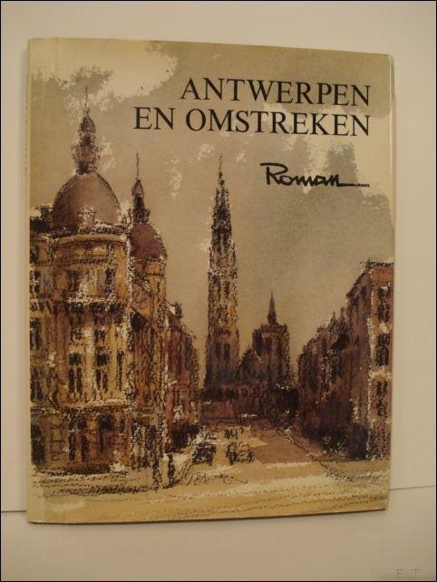 Thomas Roman (ills.) / Willem Persoon (poezie). - Antwerpen en omstreken, Roman de  Scheldekant.