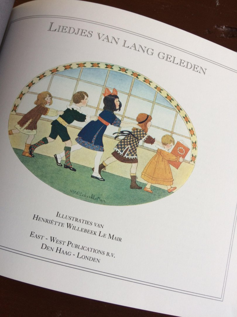Boekwinkeltjes nl - Willebeek Le Mair, H  - Liedjes van lang