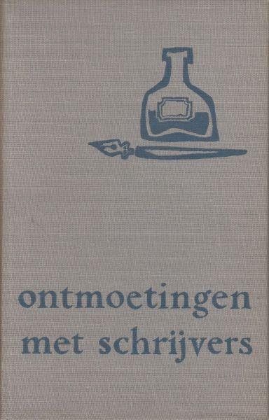 Ritter, die publiceerde als dr. P.H. Ritter jr. (pseud. Rudolf Atele, Utrecht, 16 augustus 1882 - Houten, 13 april 1962), Pierre Henri - Ontmoetingen met schrijvers. Figuren der oude en midden-generatie - P.H. Ritter Jr. / 21e Boekenweek Geschenk ter gelegenheid van de Boekenweek in 1956. - Besproken auteurs: Marsman, Vasalis, Vestdijk Van Deyssel Woestijne, Blaman, Kloos.