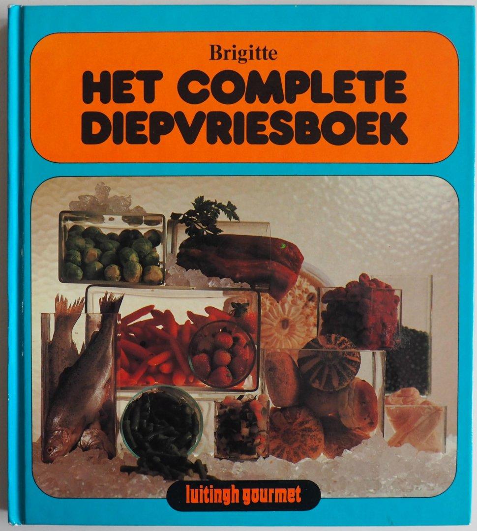 Borchert, Ursula. vert. Jean Helbergen van - Brigitte Het complete diepvriesboek
