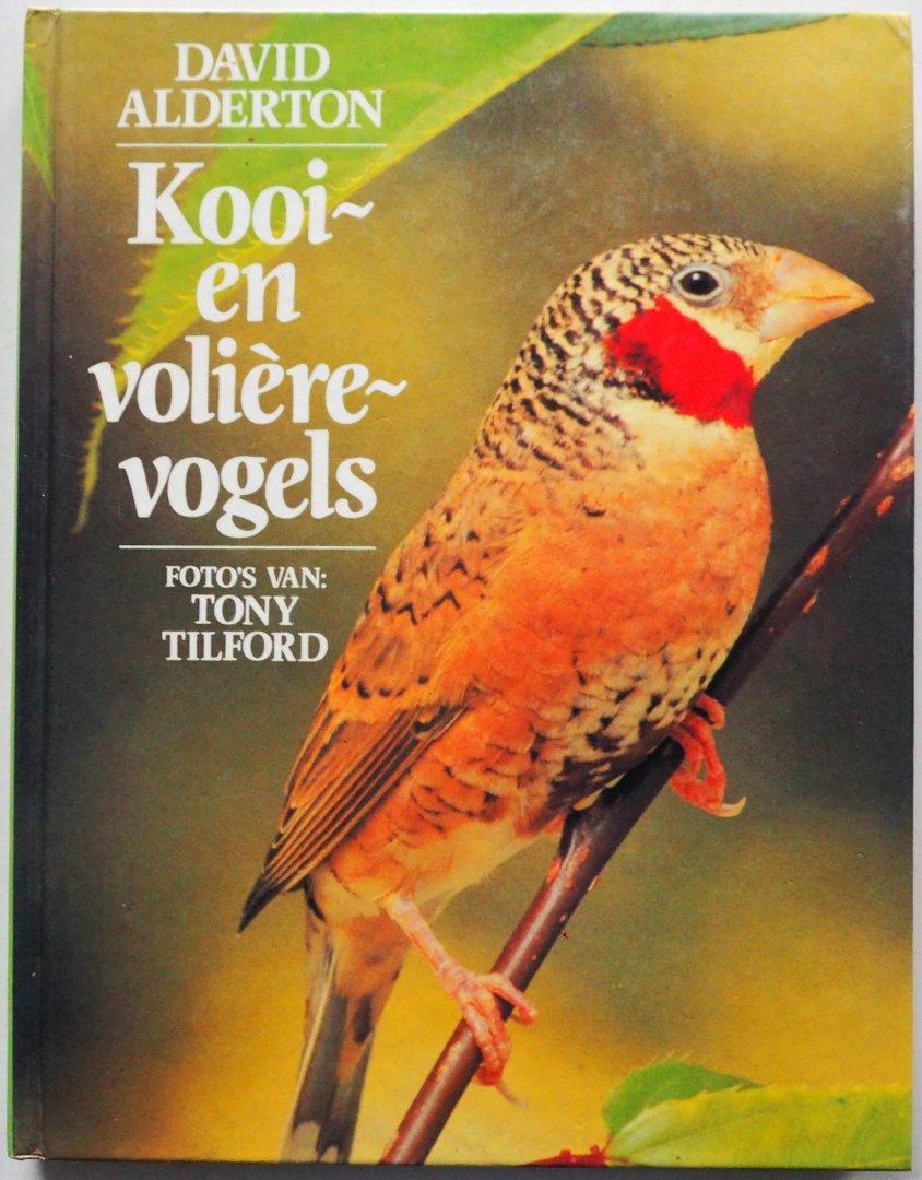 Alderton David e.a Illustrator : Tilford Tony .e.a - Kooi en volièrevogels