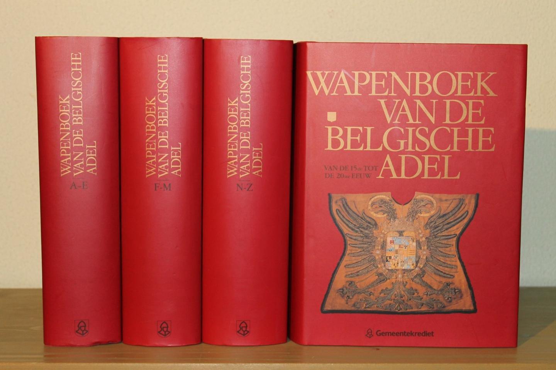 DUERLOO, Luc / JANSSENS, Paul - Wapenboek van de Belgische adel van de 15de tot de 20ste eeuw. (4 volumes)