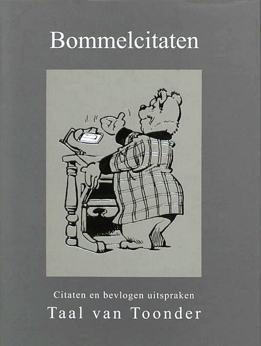 Citaten Uit Literatuur : Boekwinkeltjes.nl bommelcitaten . taal van toonder . citaten en