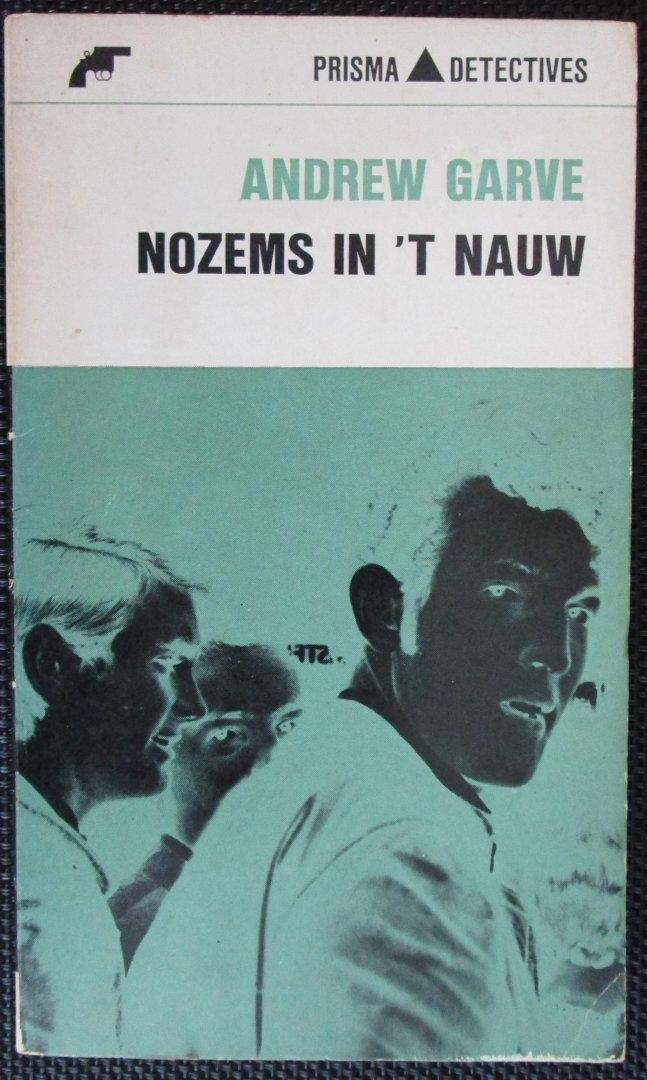 Garve, Andrew - Nozems in `t nauw