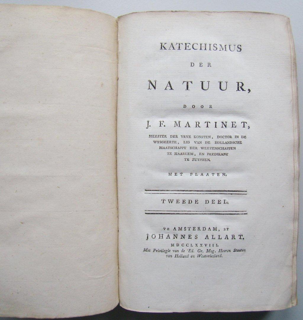 Martinet, J.F. / Vinkeles, Reinier (gravure) - Katechismus der natuur, 2 delen