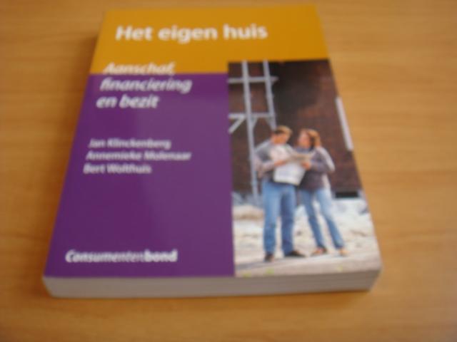 Klinckenberg, Jan & Molenaar, Annemieke & Wolthuis, Bert - Het eigen huis - Aanschaf, financiering en bezit