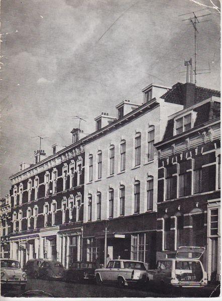 Niet vermeld huis tussen de huizen 1956 1966 rotterdam oud - Tussen huis ...