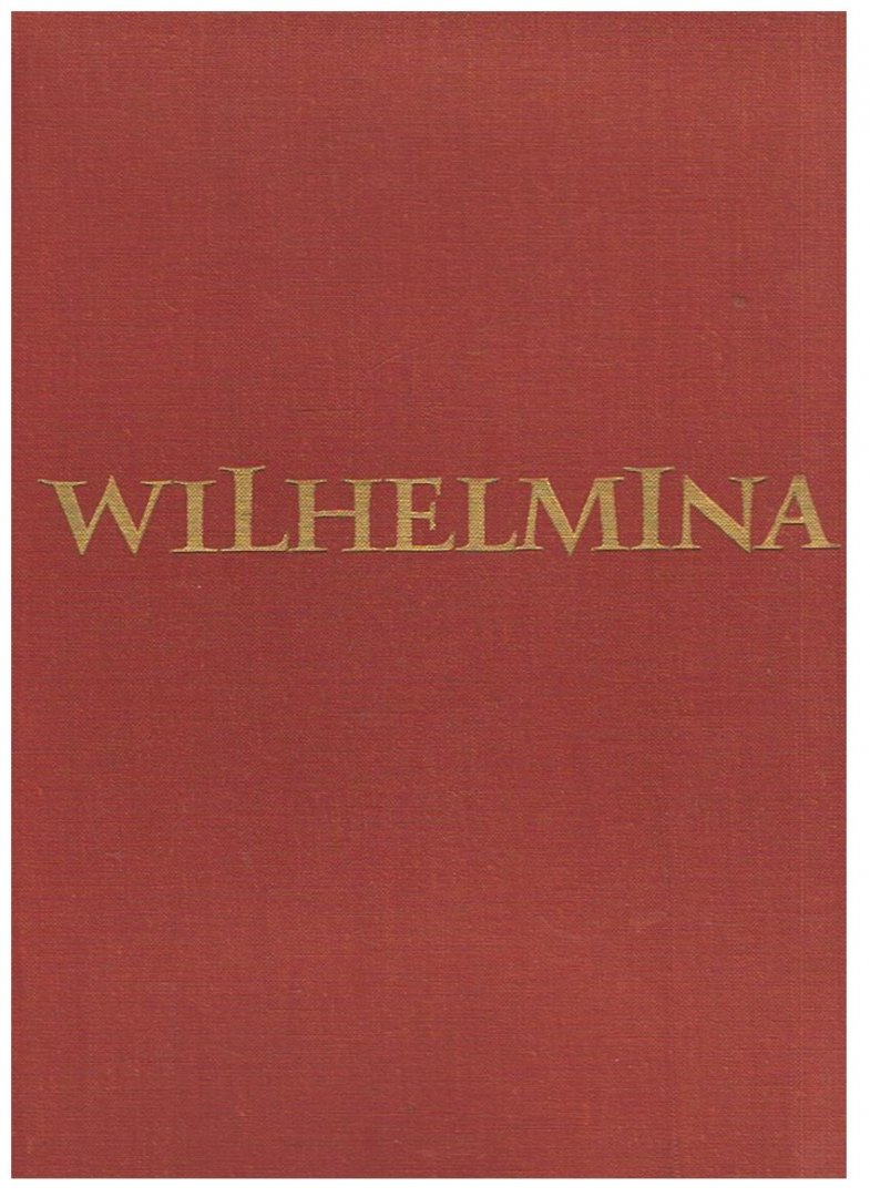 Iong, Dr. Jane de en Kohnstamm, Drs. M. - Wilhelmina - een levensgeschiedenis in foto's