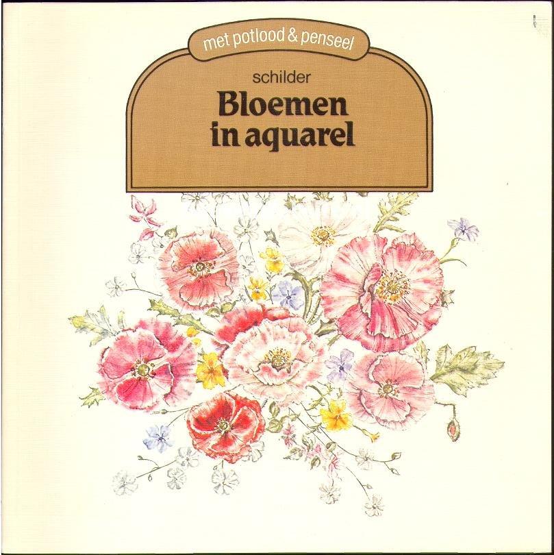 Coleridge, Sarah Jane - Schilder Bloemen in aquarel