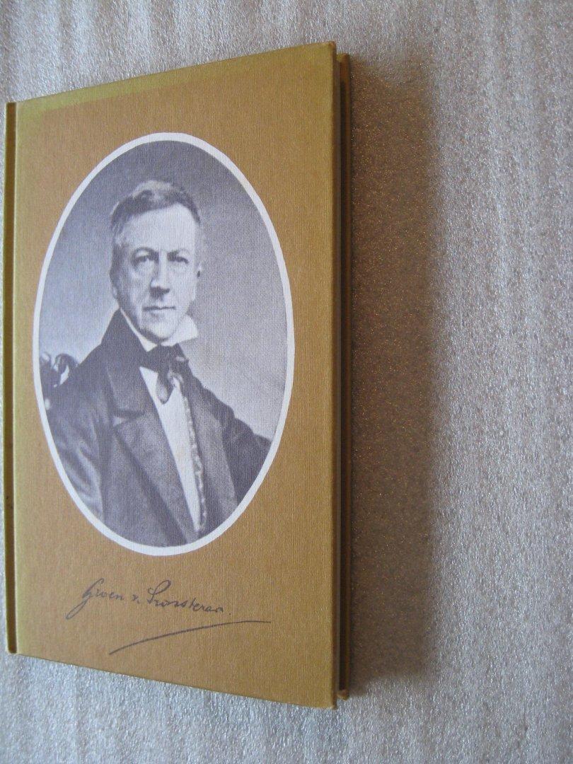 Schutte,Dr. G.J. - Mr. G.Groen van Prinsterer
