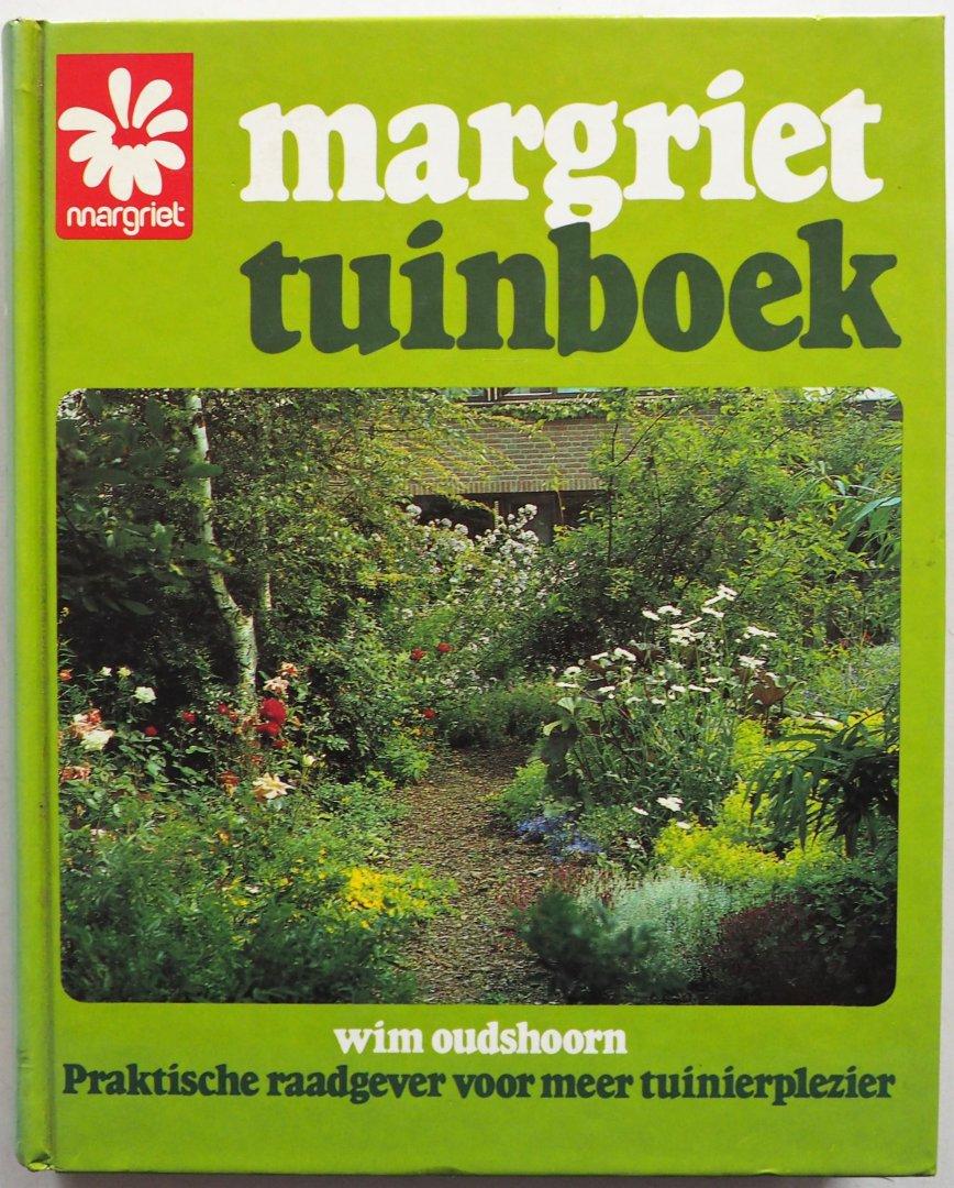 Oudshoorn Wim, ill. Nieuwenhuis Nicoline,  Horn Janine ten - Margriet tuinboek Praktische raadgever voor meer tuinplezier