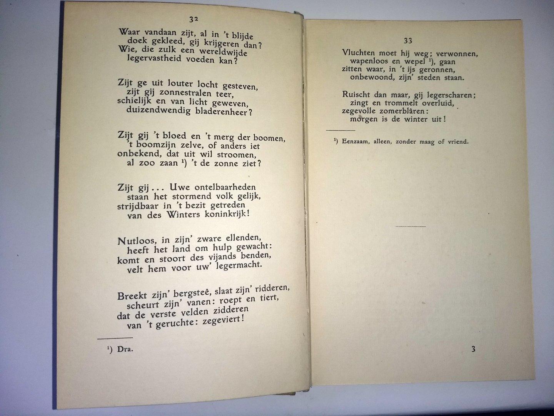 Dr. J. Aleida Nijland - BLOEMLEZING UIT GUIDO GEZELLE'S GEDICHTEN 1915 - zesde druk