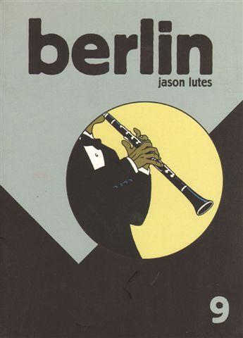 Lutes, Jason - Berlin 9  , 24 pag geniete softcover, goede staat , miniem vlekje voorkant (engelstalige comic)