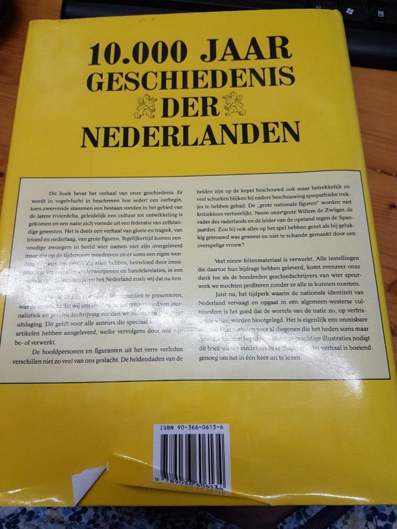 ... Klaas Jansma en Meindert Schroor - 10.000 Jaar geschiedenis der  nederlanden 1991