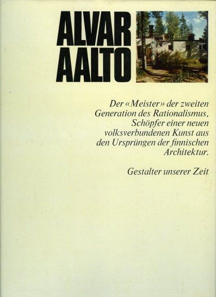 "Alvar Aalto. Der ""Meister"" ..."