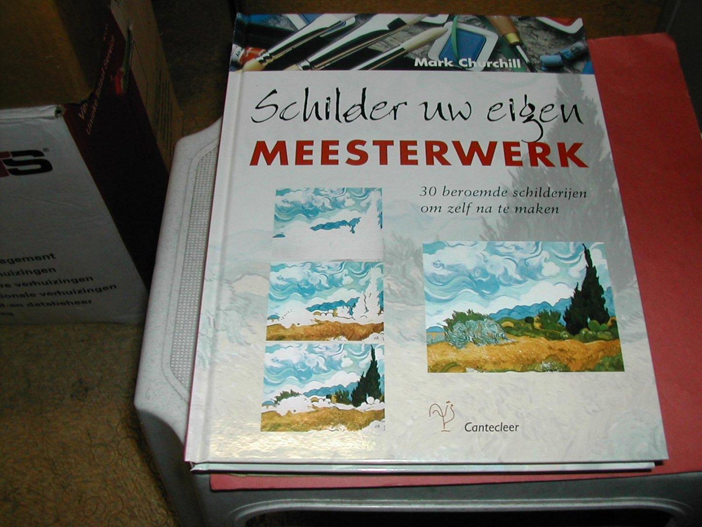 Boekwinkeltjes schilder uw eigen meesterwerk beroemde