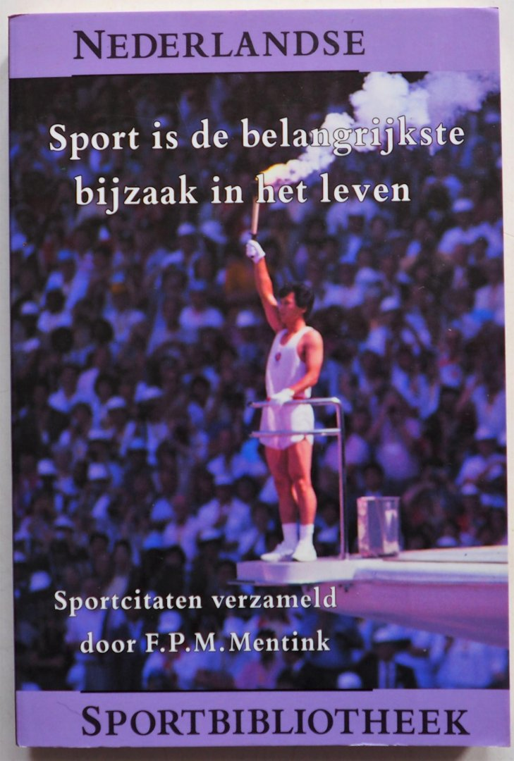 Sportcitaten : Boekwinkeltjes.nl sport is de belangrijkste bijzaak in het leven