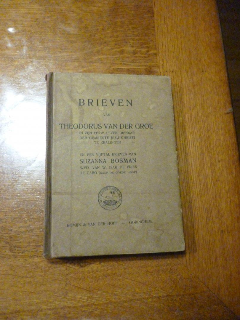 Groe van der Theodorus - brieven van theodorus van der Groe