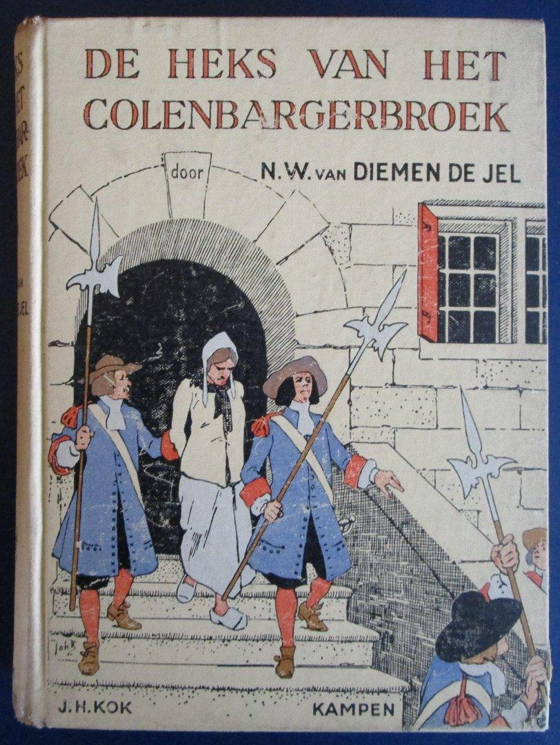 Van Diemen De Jel, N.W. - De heks van het Colenbargerbroek