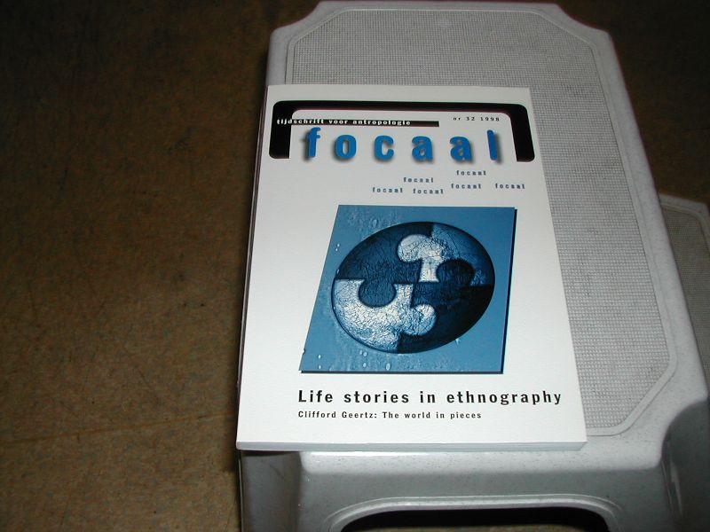 - FOCAAL   tijdschrift  voor  ANTROPOLOGIE   NR.  32  en  33