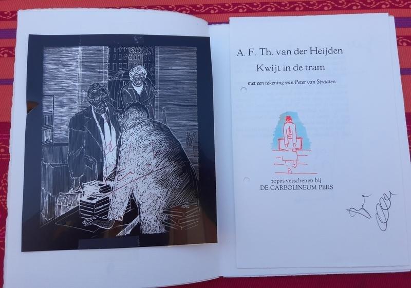 A.F.Th. van der Heijden - Kwijt in de tram