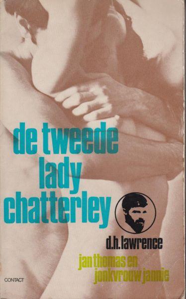 Lawrence, D. H. - De tweede Lady Chatterley. Jan Thomas en Jonkvrouw Jannie. Vertaling Jean A. Schalekamp. De belangrijke tweede versie die tot 1973 alleen in het Italiaans beschikbaar was. De bekende editie van Lady Chatterley is de derde versie. Gewaagdere versie.