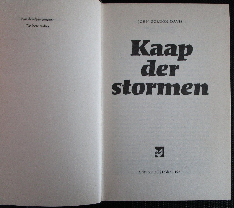 Davis, John Gordon - Kaap der stormen