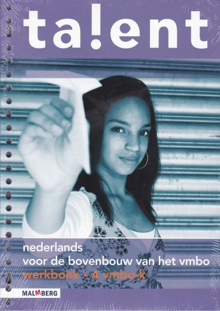Mulder, Erna e.a. - ta!ent nederlands voor de bovenbouw van het vmbo werkboek 4 vmbo-k