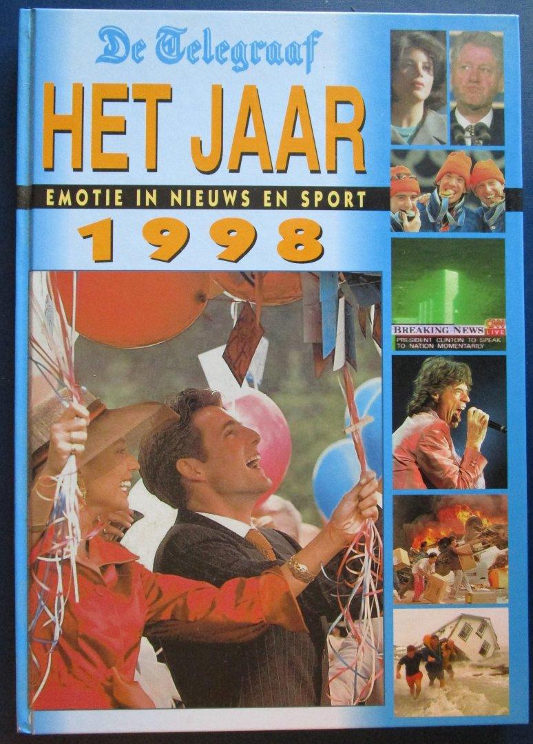 Van den Dongen, Johan e.a. - De Telegraaf - Het jaar 1998 - Emotie in nieuws en sport