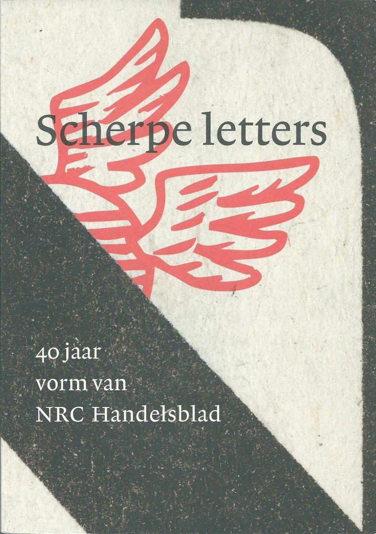 nrc 40 jaar Boekwinkeltjes.nl   Steenhuis, Paul   Scherpe letters : 40 jaar  nrc 40 jaar