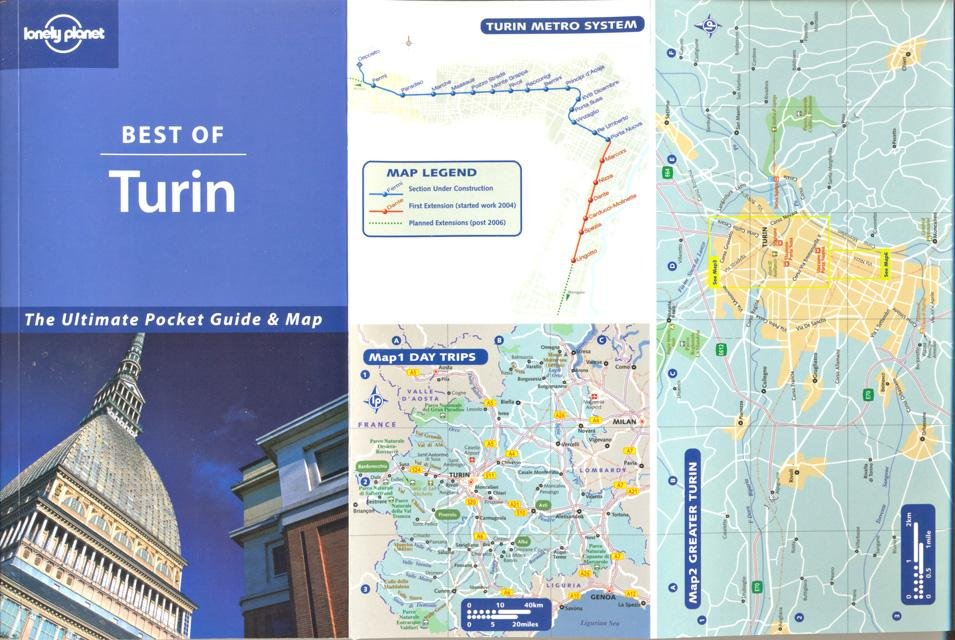 O`Brian, Sally - Best of Turin. The ultimate Pocket Guide & Map [tekst EN]