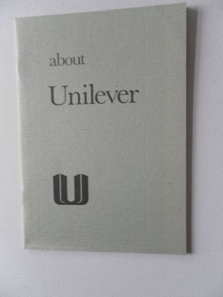 n.b - About Unilever