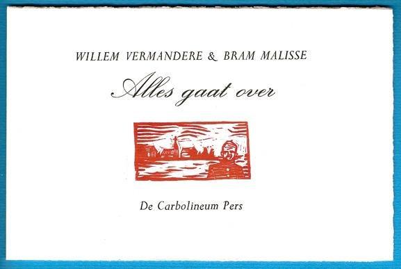 Vermandere, Willem - Alles gaat over