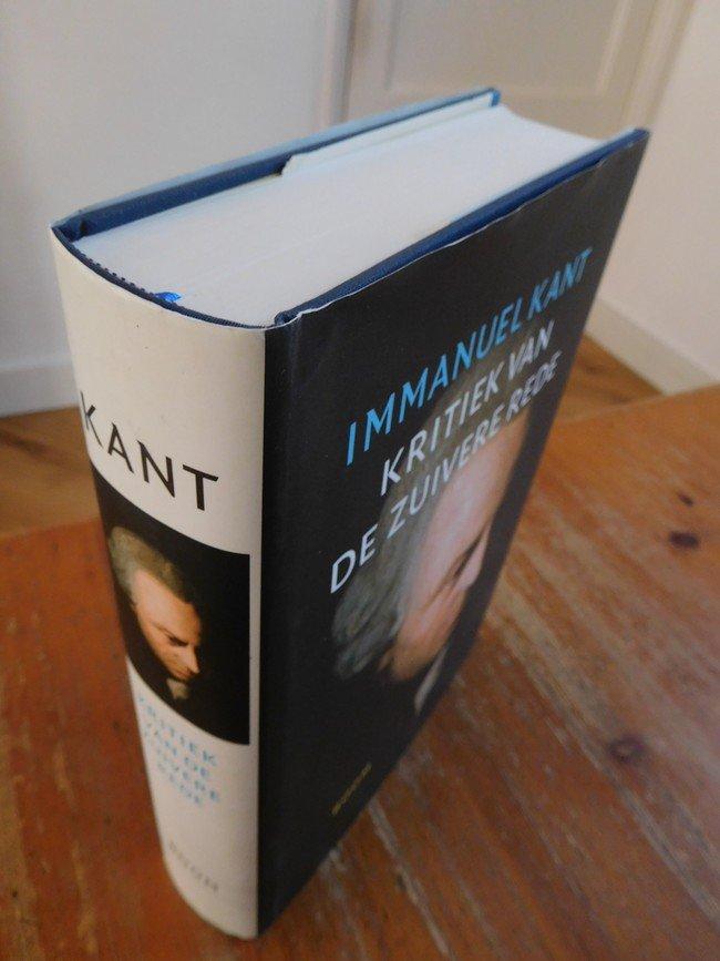 Boekwinkeltjesnl Kant I Kritiek Van De Zuivere Rede