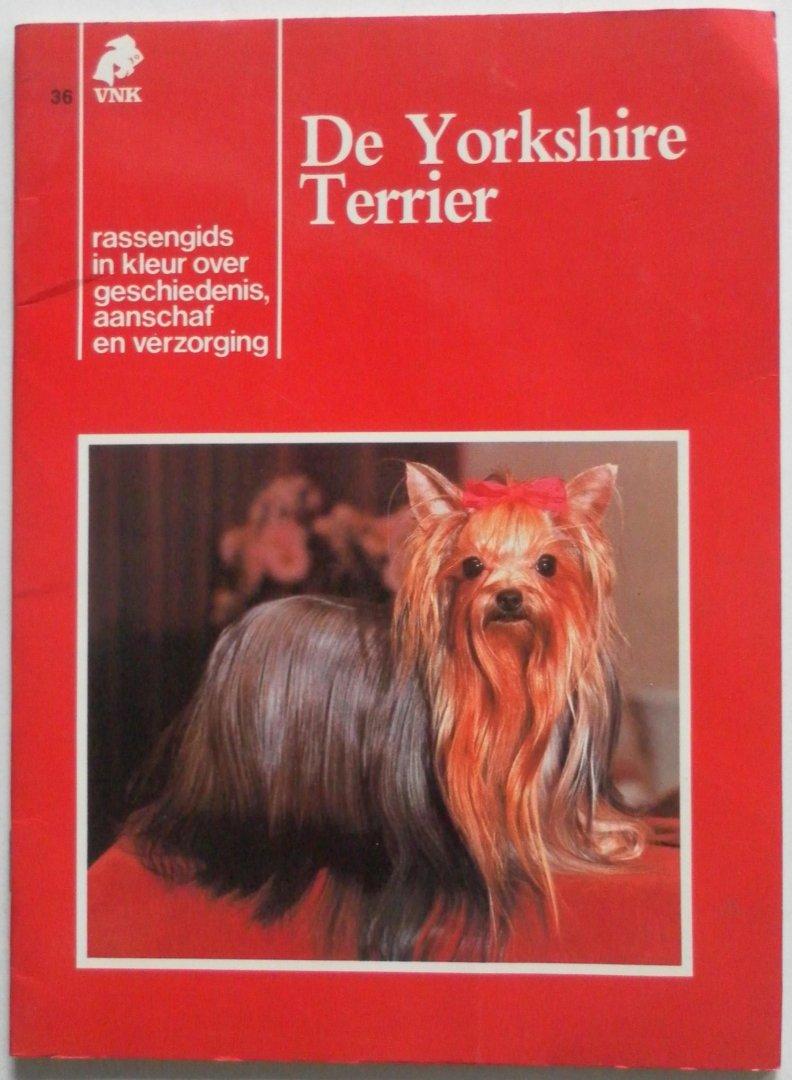 VNK. no 36 - De Yorkshire Terrier. Rassengids in kleur over geschiedenis, aanschaf en verzorging