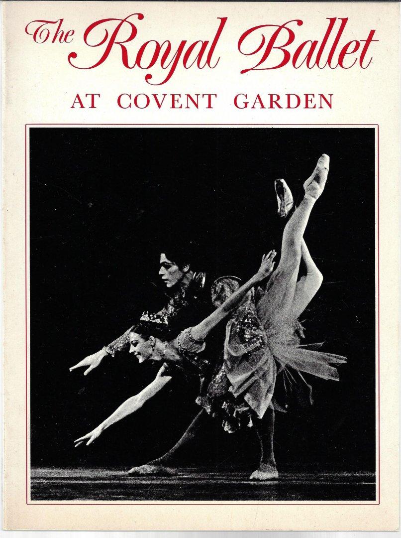 VAUGHAN, DAVID - The Royal Ballet at Covent Garden