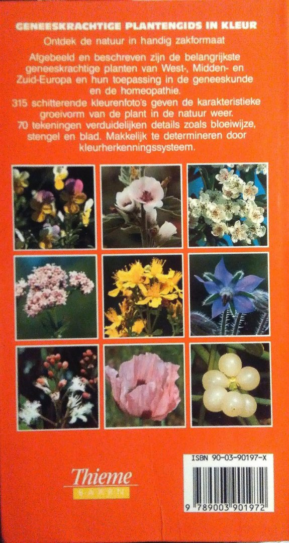 Boekwinkeltjes Nl Geneeskrachtige Plantengids In Kleur Een